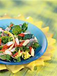 Surimi crab and radish salad Stock Photo - Premium Rights-Managed, Artist: Photocuisine, Code: 825-05812047