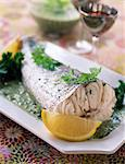 Cod with herb sauce Stock Photo - Premium Rights-Managed, Artist: Photocuisine, Code: 825-05812236