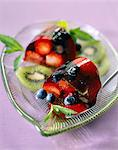 Summer fruit turban Stock Photo - Premium Rights-Managed, Artist: Photocuisine, Code: 825-05812249