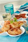 Shrimp Tempuras Stock Photo - Premium Rights-Managed, Artist: Photocuisine, Code: 825-05812409