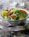 Fresh salad with kiwis Stock Photo - Premium Rights-Managed, Artist: Photocuisine, Code: 825-05812554