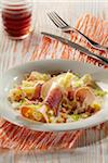 Choucroute salad with foie gras Stock Photo - Premium Rights-Managed, Artist: Photocuisine, Code: 825-05812558