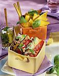 Grilled vegetables with Pistou Stock Photo - Premium Rights-Managed, Artist: Photocuisine, Code: 825-05812712