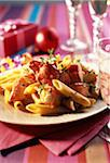 Lobster Fricassée with penne Stock Photo - Premium Rights-Managed, Artist: Photocuisine, Code: 825-05812721