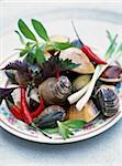Shellfish and pepper Fricassée Stock Photo - Premium Rights-Managed, Artist: Photocuisine, Code: 825-05812803