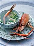 Vietnamese spiny lobster soup Stock Photo - Premium Rights-Managed, Artist: Photocuisine, Code: 825-05812818