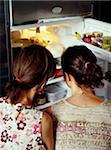 What's in the fridge? Stock Photo - Premium Rights-Managed, Artist: Photocuisine, Code: 825-05812832