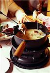 Savoie Fondue Stock Photo - Premium Rights-Managed, Artist: Photocuisine, Code: 825-05812848