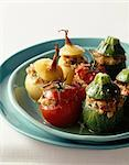 Small stuffed vegetables Stock Photo - Premium Rights-Managed, Artist: Photocuisine, Code: 825-05813122