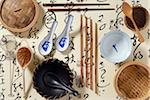 Composition with Chinese cooking implements Stock Photo - Premium Rights-Managed, Artist: Photocuisine, Code: 825-05813203