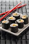 Sushis Stock Photo - Premium Rights-Managed, Artist: Photocuisine, Code: 825-05813348