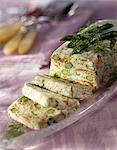 Asparagus and salmon terrine Stock Photo - Premium Rights-Managed, Artist: Photocuisine, Code: 825-05813519