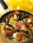 Paëlla Stock Photo - Premium Rights-Managed, Artist: Photocuisine, Code: 825-05814427