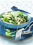 Penne with greens Stock Photo - Premium Rights-Managed, Artist: Photocuisine, Code: 825-05814661