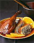 Peking duck with orange Stock Photo - Premium Rights-Managed, Artist: Photocuisine, Code: 825-05815236