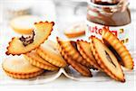 Nutella Financiers Stock Photo - Premium Rights-Managed, Artist: Photocuisine, Code: 825-05815575