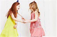 Girls dancing at party Stock Photo - Premium Royalty-Freenull, Code: 614-05819064