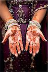 Bride with Henna on Hands Stock Photo - Premium Rights-Managed, Artist: Ikonica, Code: 700-05821804