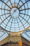 Glass Dome of the Galleria Vittorio Emanuele II, Milan, Lombardy, Italy Stock Photo - Premium Rights-Managed, Artist: Martin Ruegner, Code: 700-05821957