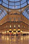 Glass Dome of the Galleria Vittorio Emanuele II, Milan, Lombardy, Italy Stock Photo - Premium Rights-Managed, Artist: Martin Ruegner, Code: 700-05821958