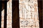 Hieroglyphs on Column, Luxor, Egypt Stock Photo - Premium Rights-Managed, Artist: Ikonica, Code: 700-05822141