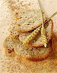 Bran bread Stock Photo - Premium Rights-Managed, Artist: Photocuisine, Code: 825-05835658