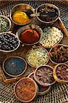 Selection of spices Stock Photo - Premium Rights-Managed, Artist: Photocuisine, Code: 825-05835861