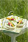 Vegetable tartlets Stock Photo - Premium Rights-Managed, Artist: Photocuisine, Code: 825-05836429