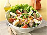 Farmer's salad Stock Photo - Premium Rights-Managed, Artist: Photocuisine, Code: 825-05836793