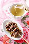 Beef and anchovy brochette Stock Photo - Premium Rights-Managed, Artist: Photocuisine, Code: 825-05837207