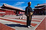 Man Wearing Traditional Clothing, Shuri Castle, Naha, Okinawa, Japan Stock Photo - Premium Rights-Managed, Artist: R. Ian Lloyd, Code: 700-05837404
