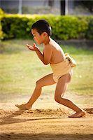 Young Sumo Wrestler, Tokunoshima, Kagoshima Prefecture, Japan Stock Photo - Premium Rights-Managednull, Code: 700-05837417