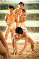 Young Sumo Wrestlers, Tokunoshima, Kagoshima Prefecture, Japan Stock Photo - Premium Rights-Managednull, Code: 700-05837418