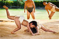 Young Sumo Wrestlers, Tokunoshima, Kagoshima Prefecture, Japan Stock Photo - Premium Rights-Managednull, Code: 700-05837421