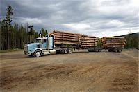Logging Truck Stock Photo - Premium Rights-Managednull, Code: 700-05837597