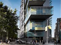 Manchester Civil Justice Centre. Architects: Denton Corker Marshall Stock Photo - Premium Rights-Managednull, Code: 845-05837635