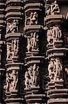 Stone carvings, Mahadev Temple, Khajuraho, Madhya Pradesh, India Stock Photo - Premium Rights-Managed, Artist: Arcaid, Code: 845-05839118