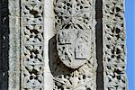 Eleanor Cross Geddington. Detail of shield on East side. Stock Photo - Premium Rights-Managed, Artist: Arcaid, Code: 845-05839397