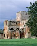 Lanercost Priory. View of the Priory Church from south east. Stock Photo - Premium Rights-Managed, Artist: Arcaid, Code: 845-05839421