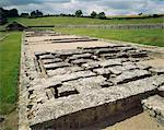 North Leigh Roman Villa. The north west range. Stock Photo - Premium Rights-Managed, Artist: Arcaid, Code: 845-05839434