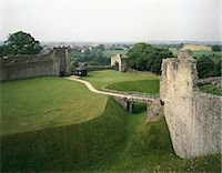 Pickering Castle. the Outer Ward and Gatehouse . Stock Photo - Premium Rights-Managednull, Code: 845-05839445