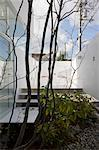 Atelier-Bisque Doll, Private House + Atelier, View of the patio. Architects: Keisuke Maeda, UID Architects Stock Photo - Premium Rights-Managed, Artist: Arcaid, Code: 845-05839523