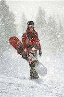 Snowboarder Stock Photo - Premium Rights-Managednull, Code: 853-05840903