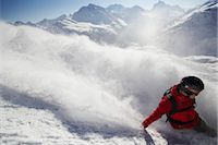 Snowboarder Stock Photo - Premium Rights-Managednull, Code: 853-05840907