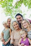 Multi-generation family, portrait Stock Photo - Premium Royalty-Freenull, Code: 632-05845021
