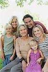 Multi-generation family, portrait Stock Photo - Premium Royalty-Freenull, Code: 632-05845169