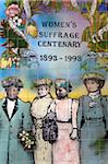 Women's Suffrage tile mural outside the Auckland Art Gallery, Auckland, North Island, New Zealand, Pacific Stock Photo - Premium Rights-Managed, Artist: Robert Harding Images, Code: 841-05846209