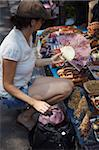 Woman shopping in market, Yogyakarta, Java, Indonesia, Southeast Asia, Asia Stock Photo - Premium Rights-Managed, Artist: Robert Harding Images, Code: 841-05846518