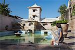Woman at Taman Sari (Water Castle), Yogyakarta, Java, Indonesia, Southeast Asia, Asia Stock Photo - Premium Rights-Managed, Artist: Robert Harding Images, Code: 841-05846524