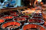 Traditional Turkish bowls on sale at a street stall in the old city of Antayla, Anatolia, Turkey, Asia Minor, Eurasia Stock Photo - Premium Rights-Managed, Artist: Robert Harding Images, Code: 841-05846599